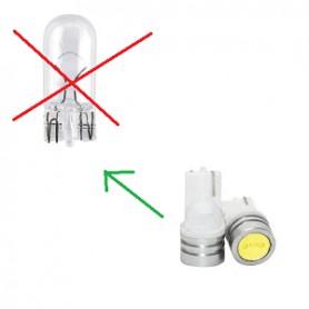 Adapter E14 fitting verloopt naar E27 lamp fitting