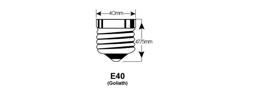 E40 LED lichtbronnen