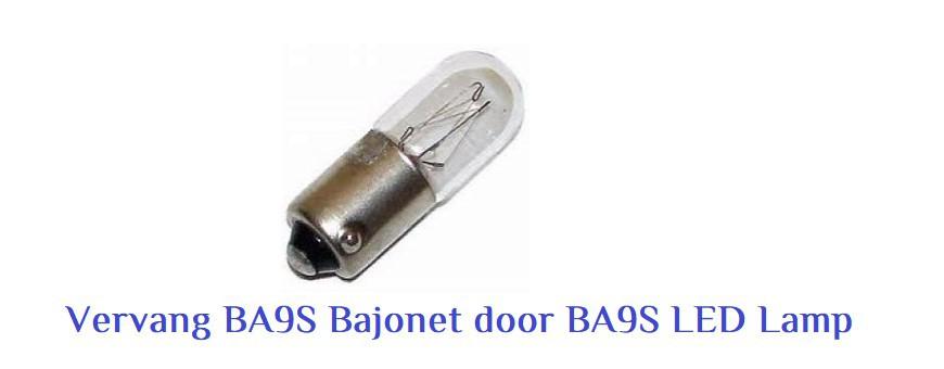BA9S Bajonet LED Lampen