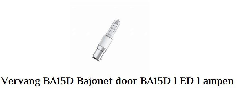 BA15D Bajonet LED Lampen