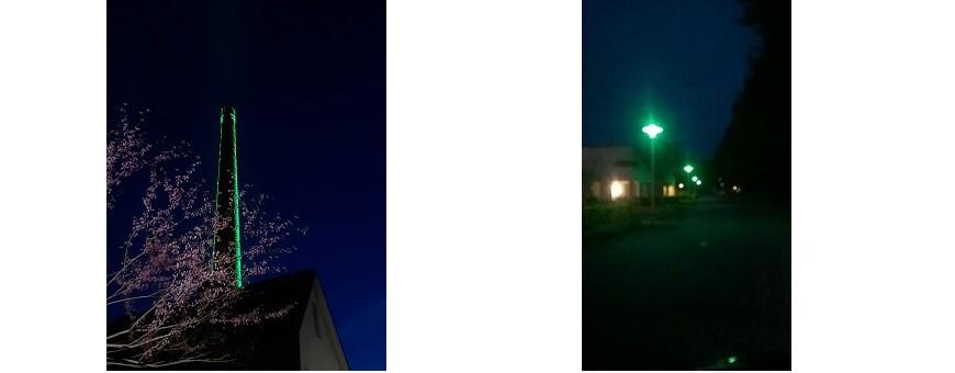 Green LED Lighting